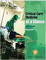 Critical Care Medicine at a Glance (Paperback, 3)