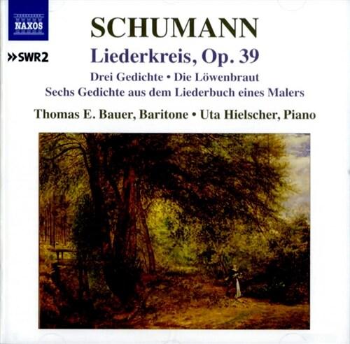 [수입] 슈만 : 리더크라이스 Op.39, 세 개의 시 Op.30, 세 개의 노래 Op.31 외