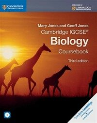 Cambridge IGCSE (R) Biology Coursebook with CD-ROM (Package, 3 Revised edition)