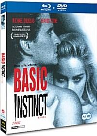 [블루레이] 원초적 본능 : 스페셜 에디션 콤보팩 (2disc: BD+DVD)