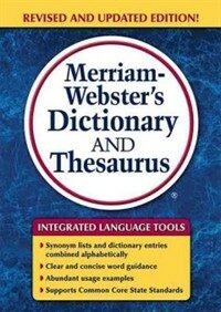 Merriam-Webster's Dictionary and Thesaurus (Paperback, Revised, Update)