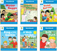 Oxford Reading Tree Workbook : Stage 3 More A Decode and Develop (Workbook6권 + 스티커 7장)