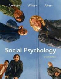 Social psychology 7th ed