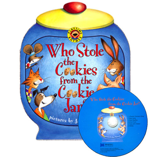 [중고] 노부영 Who Stole the Cookies from the Cookie Jar? (원서 & 노부영 부록CD) (Boardbook + CD)
