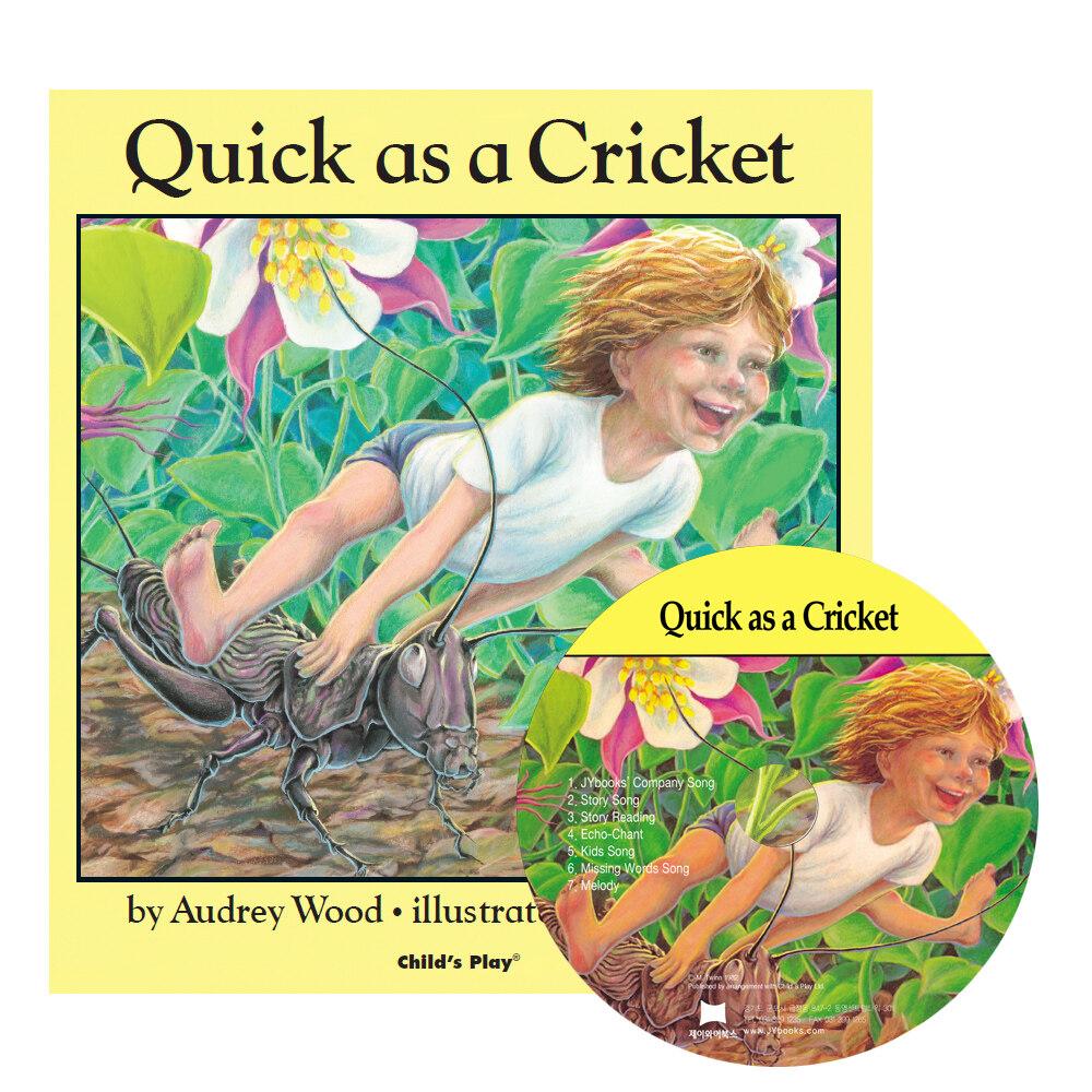 노부영 세이펜 Quick as a Cricket (Paperback + CD)