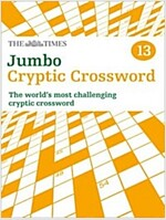 The Times Jumbo Cryptic Crossword Book 13 : 50 World-Famous Crossword Puzzles (Paperback)