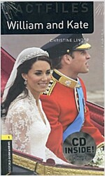 Oxford Bookworms Library Factfiles: Level 1:: William and Kate audio CD pack (Package)