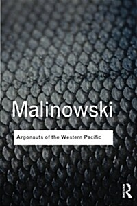 Argonauts of the Western Pacific (Paperback)