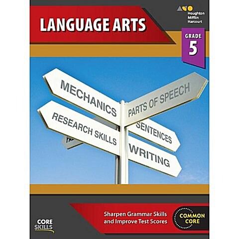 Steck-Vaughn Core Skills Language Arts: Workbook Grade 5 (Paperback)
