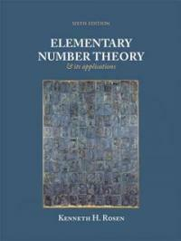 Elementary number theory and its applications 6th ed
