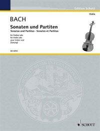 Sonatas and Partitas: For Solo Violin (Paperback)