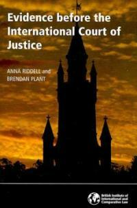 Evidence before the International Court of Justice