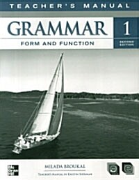 Grammar Form and Function. 1(Teacher s Manual) (Paperback)