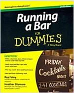 Running a Bar for Dummies (Paperback, 2)