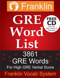 GRE Word List: 3861 GRE Words for High GRE Verbal Score (Paperback)
