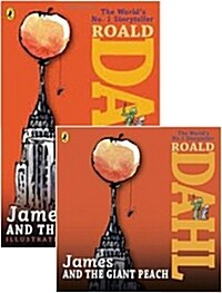 [세트] James and the Giant Peach (Paperback + CD, Unabridged Edition, 영국식 발음)