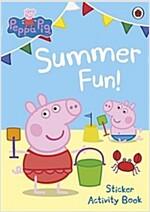 Peppa Pig: Summer Fun! Sticker Activity Book (Paperback)