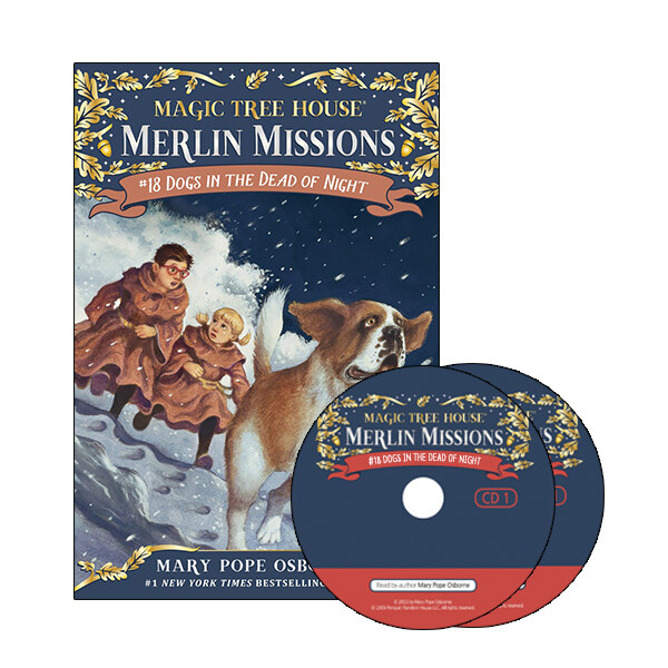 Merlin Mission #18 : Dogs in the Dead of Night (Paperback + CD )