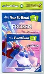 Disney Fun to Read 1 : Big Snowman, Little Snowman (Paperback + Workbook + Audio CD)