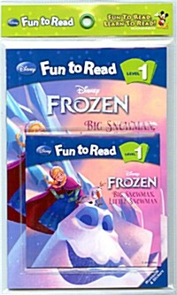 Disney Fun to Read 1 : Big Snowman, Little Snowman (Paperback + Workbook + Audio CD)