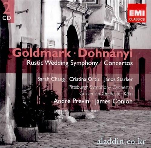 [수입] 골드마크 , 도흐나니 : 관현악곡집 (2CD)