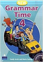 New Grammar Time 4 : Student Book (Paperback + CD-Rom 1장, 2nd Edition)