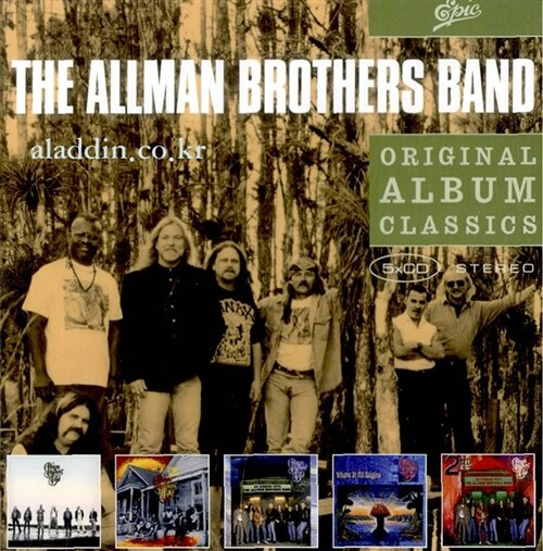[수입] Allman Brothers Band - Original Album Classics (5CD)