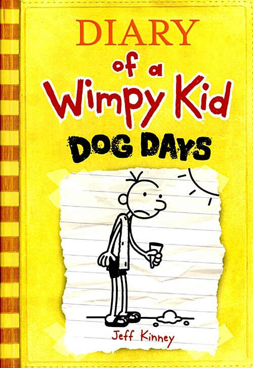 Diary of a Wimpy Kid #4 : Dog Days (Hardcover)