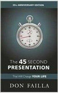 45 Second Presentation (Paperback)