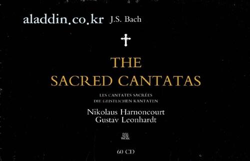 [수입] Johann Sebastian Bach : The Sacred Cantatas (60CD)