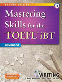 Mastering Skills for the TOEFL iBT Writing : Advanced (2nd Edition, Paperback + MP3 CD 1장)