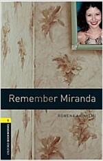 Oxford Bookworms Library: Level 1:: Remember Miranda (Paperback)