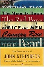 The Short Novels of John Steinbeck (Penguin Classics Deluxe Edition) (Paperback, Deckle Edge)