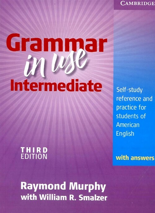 Grammar in Use Intermediate Students Book with Answers Korean Edition: Self-Study Reference and Practice for Students of American English (Paperback, 3)
