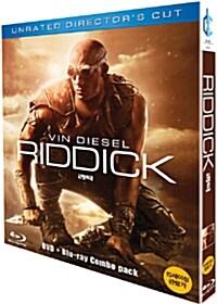 [중고] [블루레이] 리딕 : 한정판 콤보팩 (2disc: BD+DVD)