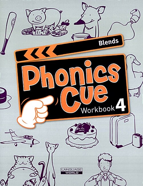 Phonics Cue 4 : Blends (Workbook)