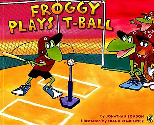 [중고] Froggy Plays T-Ball (Paperback)