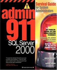 Admin911 : SQL server 2000