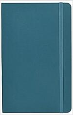 Moleskine Classic Large Ruled Notebook: Underwater Blue (Paperback)