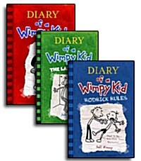Diary of a Wimpy Kid 1-3권 세트 (Hardcover 3권)