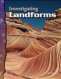 [중고] Investigating Landforms (Earth and Space Science) (Paperback)