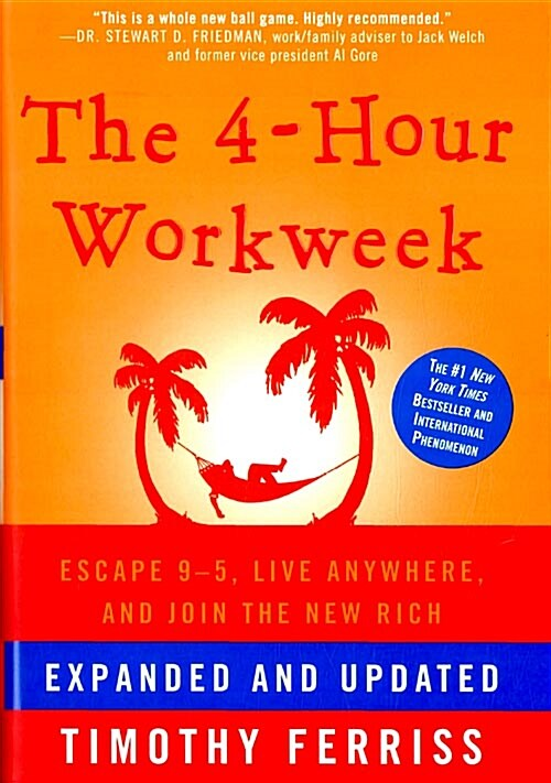 The 4-Hour Workweek: Escape 9-5, Live Anywhere, and Join the New Rich (Hardcover, Expanded, Updat)