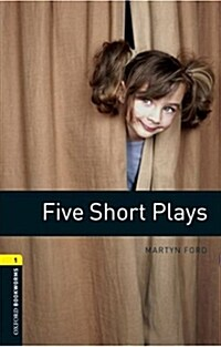 Oxford Bookworms Library: Level 1:: Five Short Plays audio CD pack (Paperback)