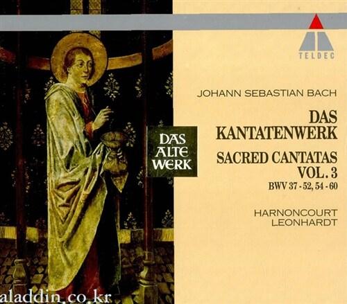[수입] 바흐 : 칸타타 Vol.3 (6CD)
