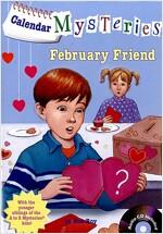 Calendar Mysteries #2: February Friend (Paperback + CD)