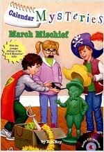 Calendar Mysteries #3: March Mischief (Paperback + CD)
