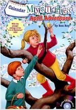 Calendar Mysteries #4: April Adventure (Paperback + CD)