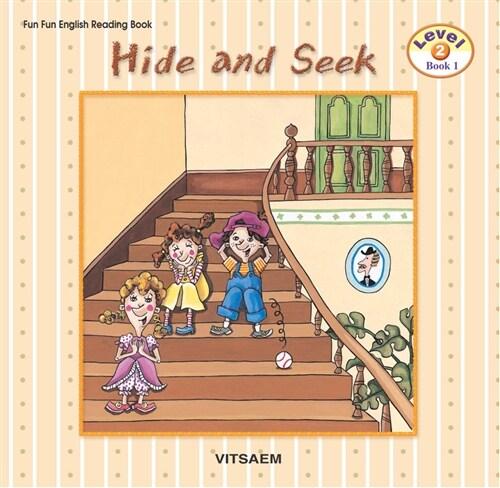 Fun Fun English Reading Book Level 2-1 : Hide-and-seek (Student Book 1권 + Activity Book 1권 + Audio CD 1장)