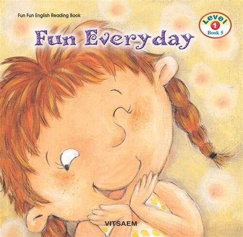 Fun Fun English Reading Book Level 1-5 : Fun Every Day (Student Book 1권 + Activity Book 1권 + Audio CD 1장)