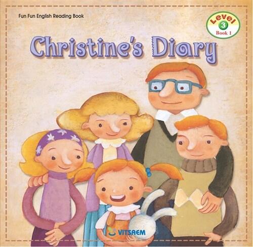 Fun Fun English Reading Book Level 3-1 : Christines Day (Student Book 1권 + Activity Book 1권 + Audio CD 1장)